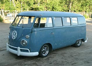 rare 1966 VW Slider Bus