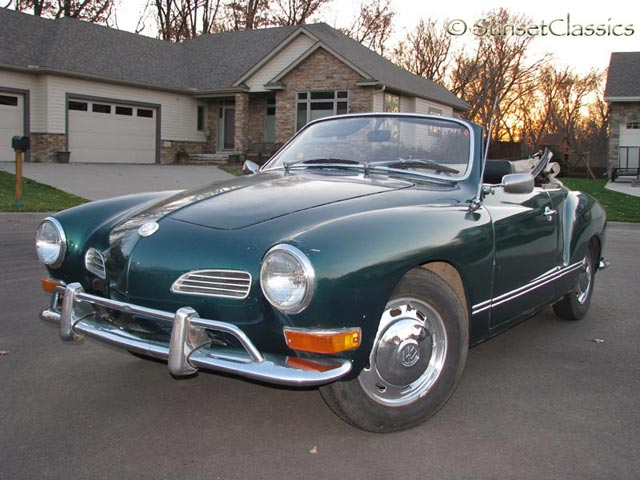 1971 VW Karmann Ghia