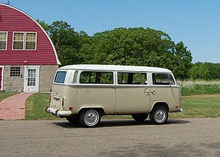 1972 VW Passenger Bus barn find for Sale