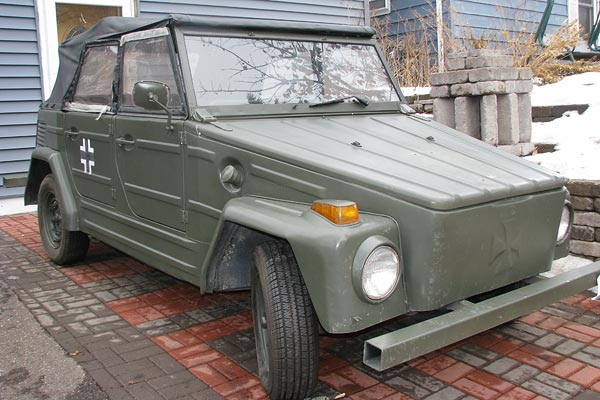 1973 VW Thing Kubelwagen