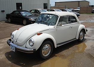 1974 VW Beetle Convertible