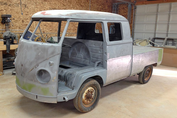 62d0290257 1960 Volkswagen Double Cab Drop Gate Pickup Truck. 1960 Double Cab Bus for  Sale