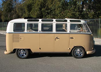 1964 21 window VW Samba Bus