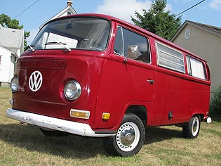 1971 VW Weekender bus for sale