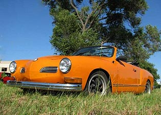 1973 Karmann Ghia Convertible