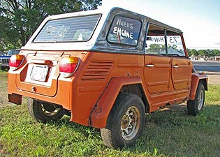 Orange 1973 VW Thing