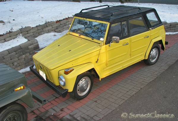 For Sale 1973 VW Thing in Minnesota