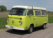 1974 VW Westy Pop-Top Bus