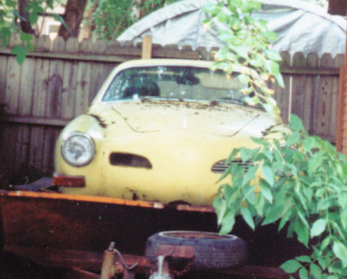 1970 Karmann Ghia parts for sale