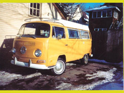 VW Bus Front
