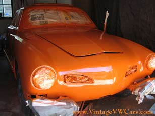 karmann ghia paint job