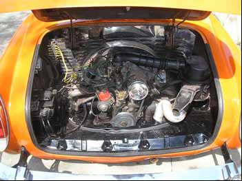 karmann ghia engine