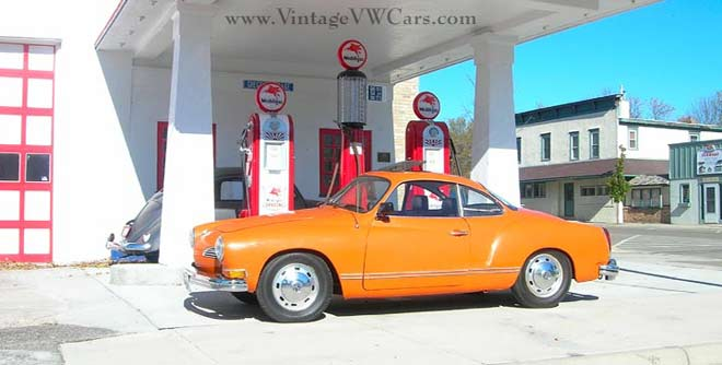 karmann ghia side view