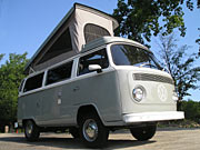 1977 VW Westfalia Pop Top Bus
