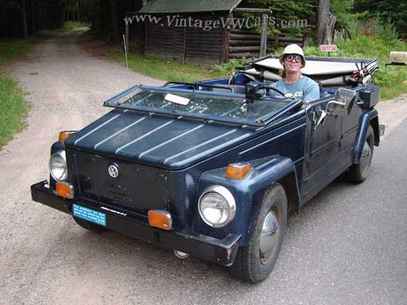 me and my VW Thing