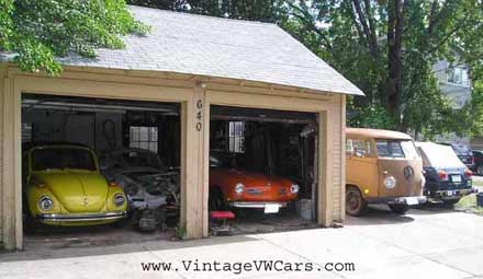 VW Beetles, buses, and Ghias