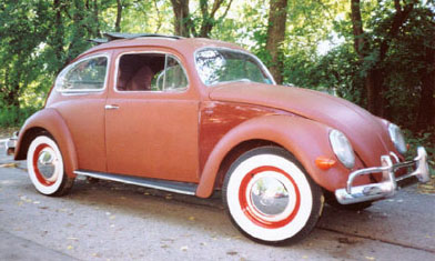 1957 oval window Beetle