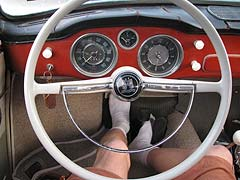 1960 karmann ghia dash