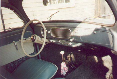 1956 Beetle Interior