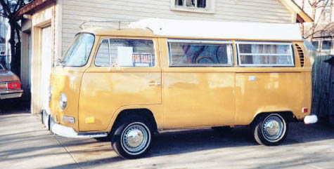 1971 VW Camper side