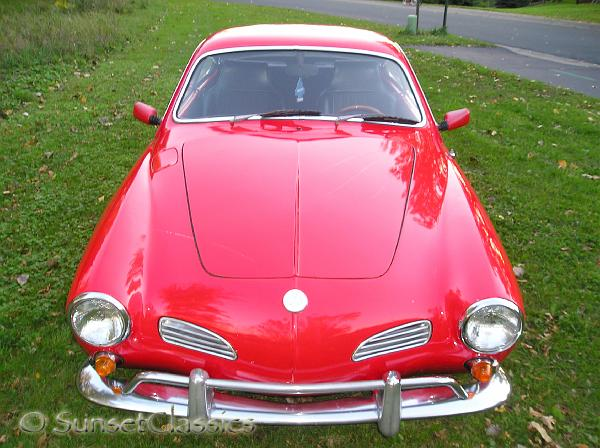 1968 Karmann Ghia front full