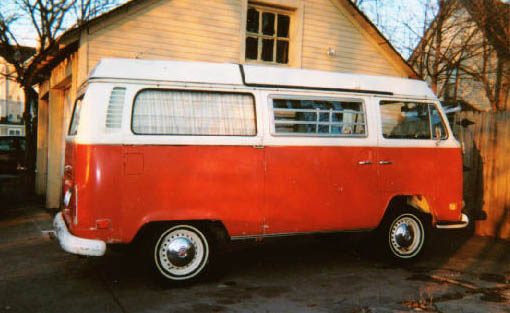 1972 Westfalia Side