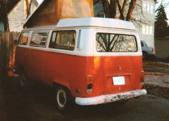 1972 Westfalia Rear