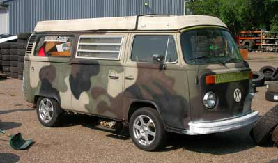 1976 VW Westfalia Pop Top
