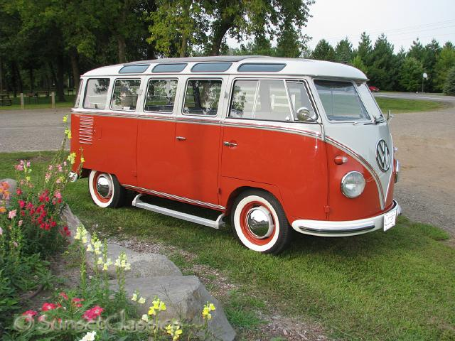 1957 23-Window VW Bus for Sale