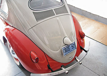 Restored 1957 VW Oval-Window Beetle