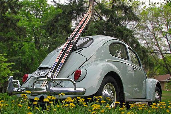 1964 Vw Bug For Sale With Ski Rack