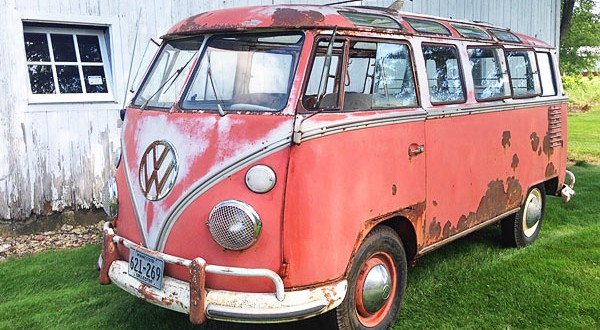 1963 23-window vw bus