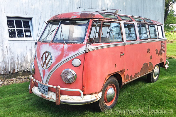find cool classic vw bus auctions at vintage vw cars. Black Bedroom Furniture Sets. Home Design Ideas
